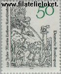 Bundesrepublik BRD 1016#  1979 Martin Luthers catechismen  Postfris