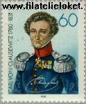 Bundesrepublik BRD 1115#  1981 Clausewitz, Carl von  Postfris
