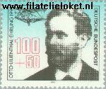 Bundesrepublik BRD 1534#  1991 Postzegeltentoonstelling LIlieNTHAL '92  Postfris