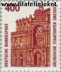 Bundesrepublik BRD 1562#  1991 Bezienswaardigheden  Postfris
