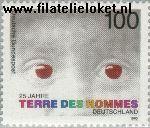 Bundesrepublik BRD 1585#  1992 Terre des Hommes  Postfris