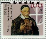 Bundesrepublik BRD 1793#  1995 Vinzenz- conferentie  Postfris
