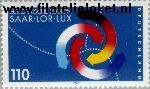 Bundesrepublik BRD 1957#  1997 Europese regio Saar-Lor-Lux  Postfris