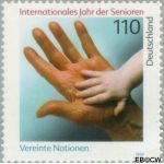 Bundesrepublik BRD 2027#  1999 Int. Jaar Senioren  Postfris