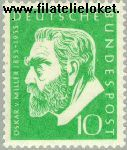Bundesrepublik BRD 209#  1955 Miller, Oskar von  Postfris