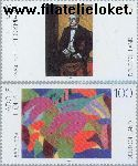 Bundesrepublik brd 2315#2316  2003 Schilderkunst 20e eeuw  Postfris