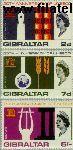 Gibraltar gib 185#187  1966 UNESCO  Postfris