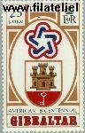 Gibraltar gib 337#  1976 U.S.A.  Postfris