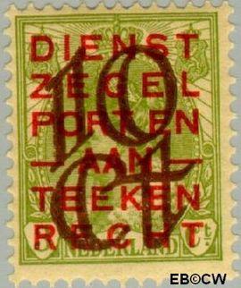 Nederland NL 132  1923 Opruimingsuitgifte 10#3 cent  Postfris