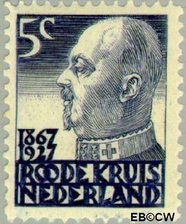 Nederland NL 205  1927 Rode Kruis 5+3 cent  Postfris
