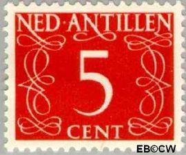 Nederlandse Antillen NA 217  1950 Type 'van Krimpen' 35 cent  Postfris