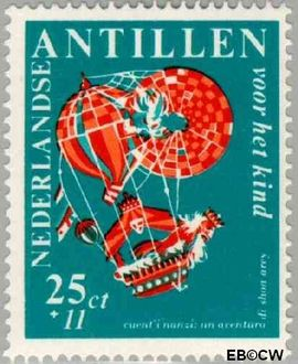 Nederlandse Antillen NA 392  1967 Nanzi-verhaal  cent  Postfris