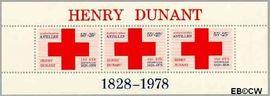 Nederlandse Antillen NA 592  1978 Dunant, Henry 25 cent  Postfris