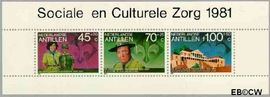 Nederlandse Antillen NA 694  1981 Padvindersbeweging Antillen 100 cent  Postfris