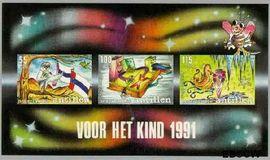 Nederlandse Antillen NA 990  1991 Analfabetisme  cent  Postfris