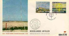 Nederlandse Antillen NA E59  1970 Zendstation Bonaire  cent  FDC zonder adres