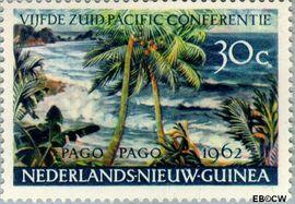 Nieuw-Guinea NG 77  1962 Zuid Pacific Conferentie 30 cent  Gestempeld