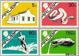 Aruba AR 5#8  1986 Beatrix  cent  Postfris