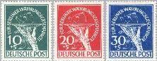 Berlin ber 68#70  1949 Slachtoffers geldhervorming  Postfris