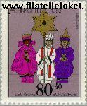 Bundesrepublik BRD 1196#  1983 Kerstmis  Postfris
