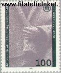 Bundesrepublik BRD 1544#  1991 Vluchtelingenconventie Genève  Postfris
