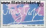 Bundesrepublik BRD 1813#  1995 Werfel, Franz  Postfris