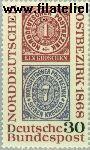 Bundesrepublik BRD 569#  1968 Norddeutschen Postbezirk  Postfris