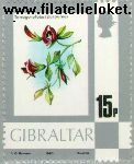 Gibraltar gib 415#  1980 Bloemen en dieren  Postfris