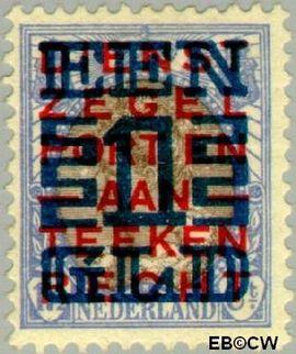 Nederland NL 133  1923 Opruimingsuitgifte 100#17½ cent  Postfris