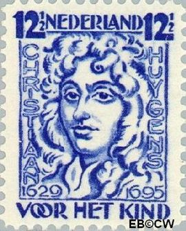 Nederland NL 223  1928 Huygens, Chr. 12½+3½ cent  Postfris