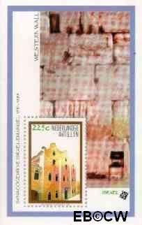 Nederlandse Antillen NA 1212  1998 Postzegeltentoonstelling Israel '98 40 cent  Postfris