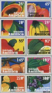 Nederlandse Antillen NA 1597#1606  2005 Vruchten 195 cent  Postfris