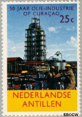 Nederlandse Antillen NA 357  1965 Olie-industrie 25+10 cent  Postfris