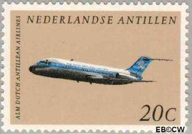 Nederlandse Antillen NA 405  1968 Vliegtuigen  cent  Postfris
