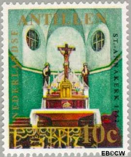 Nederlandse Antillen NA 423  1970 Kerken 15 cent  Postfris
