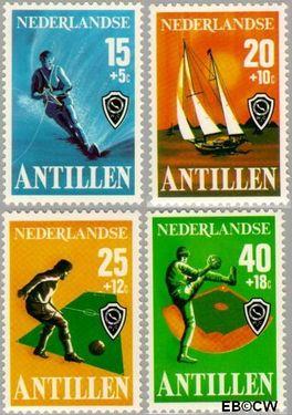 Nederlandse Antillen NA 576#579  1978 Sport 65 cent  Postfris