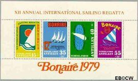 Nederlandse Antillen NA 629  1979 Sailing Regatta   cent  Postfris