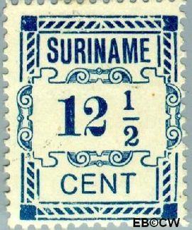 Suriname SU 68  1912 Hulpuitgifte 12½ cent  Gestempeld