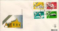 Aruba AR E1  1986 Beatrix  cent  FDC zonder adres