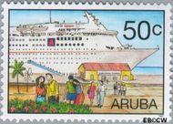 Aruba AR 198  1997 Cruises 50 cent  Gestempeld