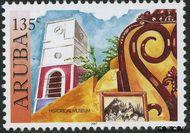 Aruba AR 379  2007 Historische musea 135 cent  Gestempeld