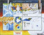 Aruba AR 423  2009 Opwarming aarde  cent  Gestempeld