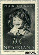 Nederland NL 300  1937 Kinderportret Frans Hals 1½+1½ cent  Gestempeld