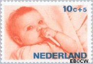 Nederland NL 870  1966 Levensstadia kind 10+5 cent  Gestempeld