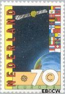 Nederland NL 1286  1983 C.E.P.T.- Grote werken menselijke geest 70 cent  Gestempeld