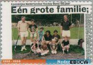 Nederland NL 1762#  1998 Koninklijke Hockeybond  cent  Gestempeld
