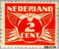 Nederland NL R60  1930 Type 'Lebeau' 2 cent  Gestempeld