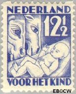 Nederland NL R89  1930 Jaargetijden 12½+3½ cent  Gestempeld