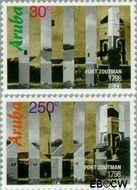 Aruba AR 207#209  1998 Fort Zoutman  cent  Gestempeld