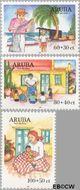 Aruba AR 237#239  1999 Kinderzegels  cent  Gestempeld